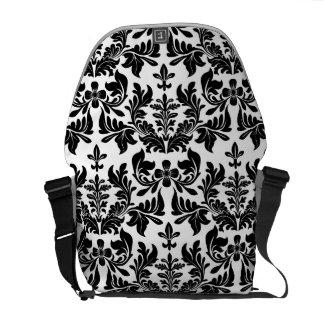 PixDezines Baroque Damask/diy background color Messenger Bag