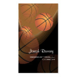 PixDezines Basketball Coach/DIY background color Business Card Templates