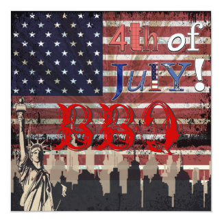 PixDezines BBQ, July 4th invites