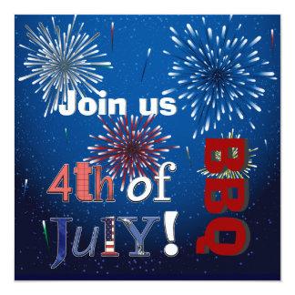 PixDezines BBQ, July 4th invites