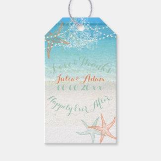 PixDezines beach/chandeliers/starfish Gift Tags