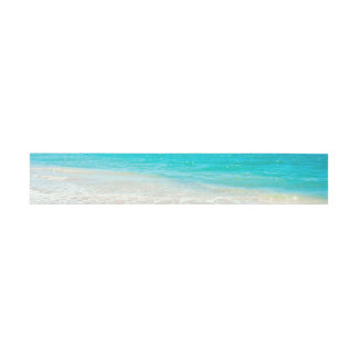 PixDezines Beach/White Sand/Turquoise Blue Ocean Invitation Belly Band