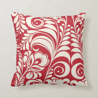 PixDezines bellissimo damask/diy background Throw Pillow