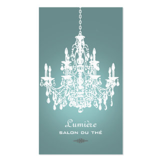 Chandelier business card chandelier business cards amp templates zazzle reheart Gallery