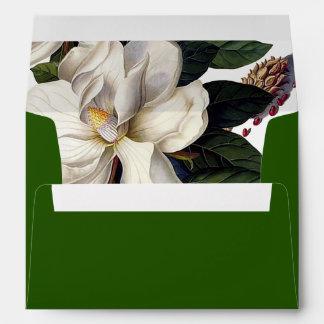 PixDezines Botanical/Magnolia/DIY color Envelope