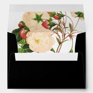 PixDezines Botanical/Nivea/Snow Roses/DIY color Envelope