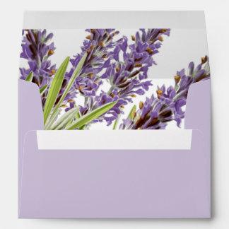 PixDezines Botanical/Provence Lavender/DIY color Envelope
