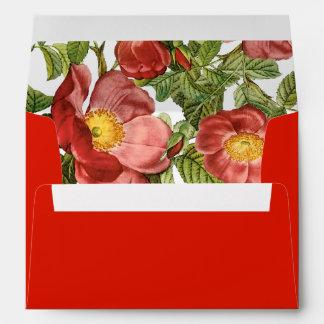 PixDezines Botanical/Rose Gallica Pumila/DIY color Envelope