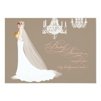 PixDezines bridal shower/DIY occasion+color Card