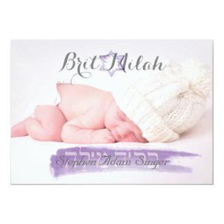 PixDezines brit milah/photo frame+stars/diy color Card