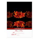 PixDezines burnt orange calla lily Business Card Templates