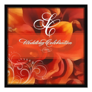 PixDezines burnt orange calla lily Card