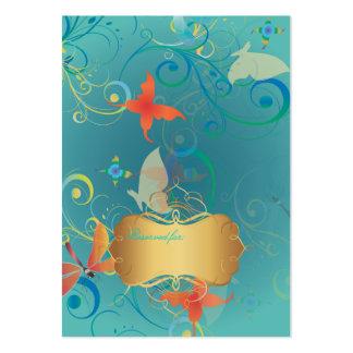 PixDezines Butterflies+Dragonflies, place cards