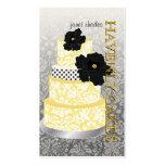 PixDezines Cake/Bakery/pâtisserie Pack Of Standard Business Cards