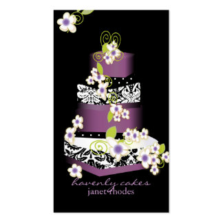 PixDezines Cake/Bakery/pâtisserie Business Card Templates