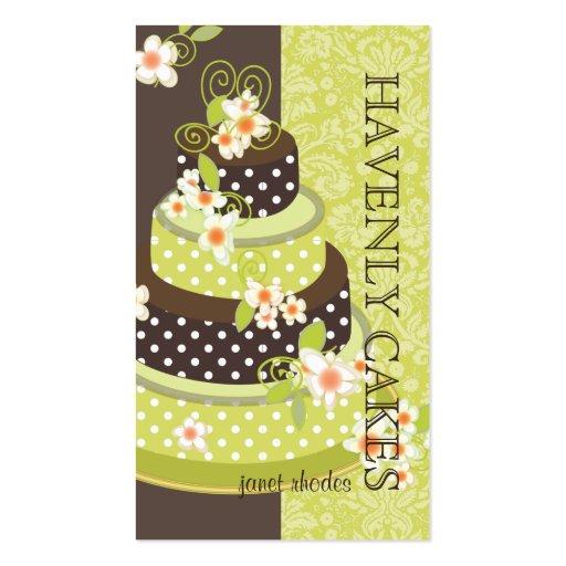 PixDezines Cake/Bakery/pâtisserie Business Card Template