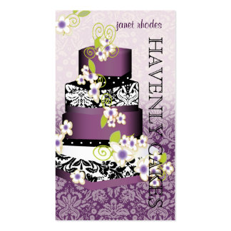 PixDezines Cake Bakery pâtisserie Business Card Template