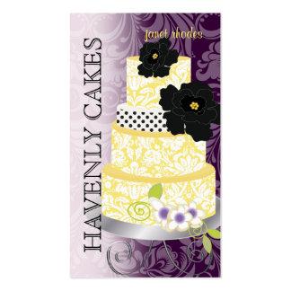 PixDezines Cake Bakery pâtisserie Business Card Templates