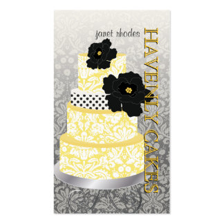 PixDezines Cake Bakery pâtisserie Business Cards