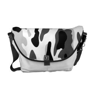 PixDezines Camo/arctic white Messenger Bag
