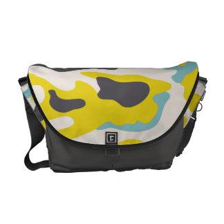 PixDezines Camo/citron Commuter Bag