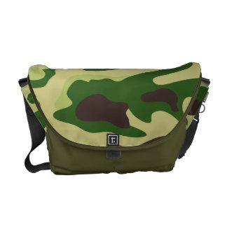 PixDezines Camo/forest green Messenger Bag