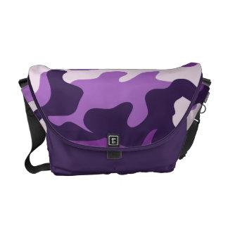 PixDezines Camo/plum pudding Courier Bag