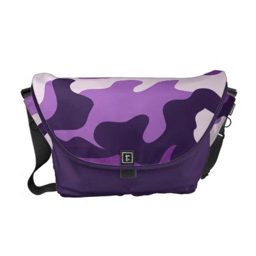 PixDezines Camo/plum pudding Messenger Bag