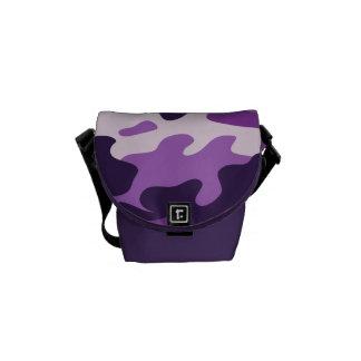 PixDezines Camo/plum pudding Courier Bags