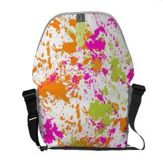 PixDezines Celebration/DIY background colors Messenger Bags