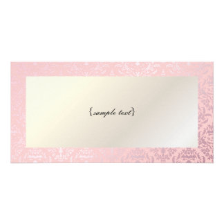 PixDezines Céline Damask, Rosequartz + Pink Card