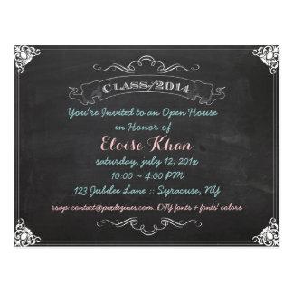 PixDezines chalkboard 2014 graduation/diy Postcards