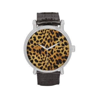 PixDezines cheetah spots aux naturelle Wrist Watches