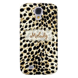PixDezines cheetah spots Galaxy S4 Cover