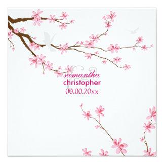 PixDezines Cherry blossom/diy background Personalized Invites