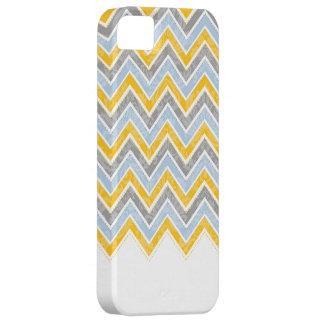 PixDezines Chevron Blue+Yellow iPhone SE/5/5s Case