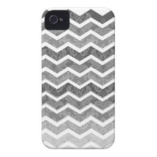 PixDezines chevron shades of grey/diy background Case-Mate iPhone 4 Cases