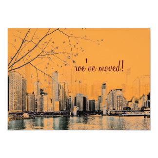 PixDezines Chicago a orillas del lago/invitación