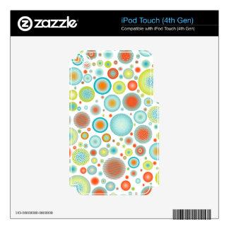 PixDezines christmas celebration/DIYbackground Skins For iPod Touch 4G
