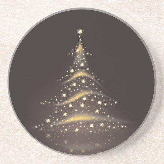 PixDezines Christmas Tree/expresso Coaster
