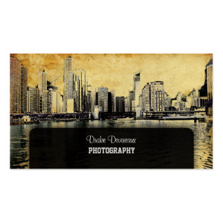 Vintage Chicago Business Cards and Business Card Templates