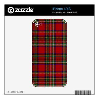 PixDezines clan stewart tartan iPhone 4S Skin