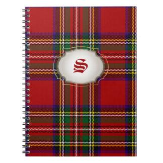 PixDezines clan stewart tartan Notebook