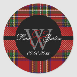PIxDezines clan stewart tartan Stickers