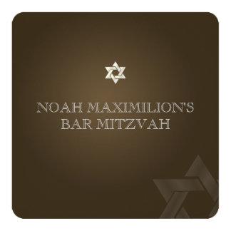 PixDezines classic mitzvah/brown/diy color Card