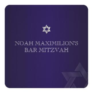 PixDezines classic mitzvah/purple/diy color Card