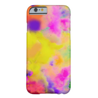 PixDezines color run just for fun Barely There iPhone 6 Case