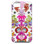 PixDezines colorful Isabella Damask/DIY color iPhone 5 Cover