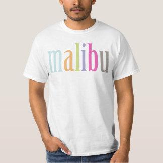 PixDezines Colorful Malibu t's T-shirt