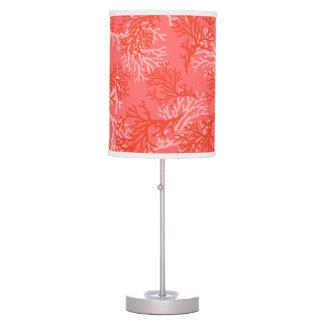 PixDezines corals/DIY color background Table Lamp